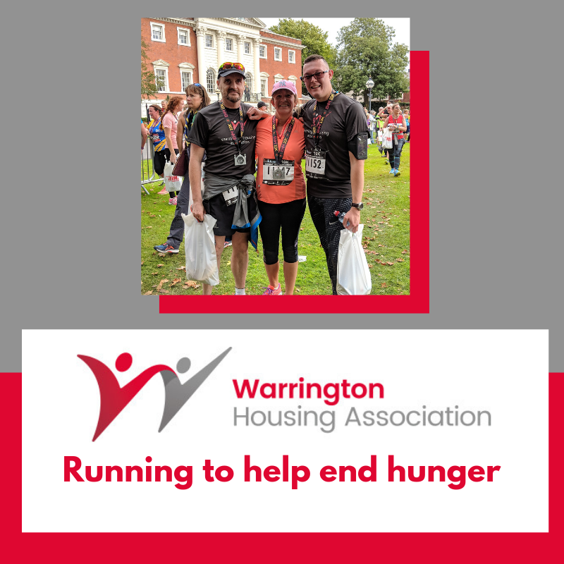 Team Wha Take On The Warrington 10k To Raise Funds For